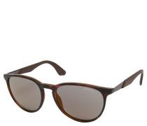 """Sonnenbrille """"5019/S"""", leicht verspiegelte Gläser, havana"""