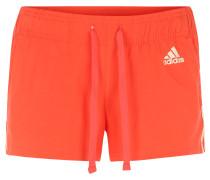 Shorts, Baumwoll-Mix, Streifen-Design, für Damen, Pink