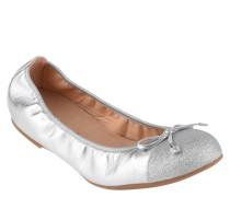 Ballerinas, Schleifen-Applikation, glitzernde Spitze, Wechselfußbett