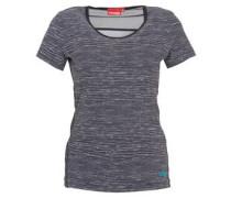 T-Shirt, Mesh-Einsatz, funktional, für Damen