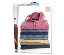 Poloshirt, Brusttasche, Gelb
