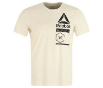 """T-Shirt """"Activchill Zoned Graphic"""", Mesh, für Herren, Weiß"""