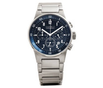 Herrenuhr Chronograph EQUALIZER BLUE METAL CHRONO