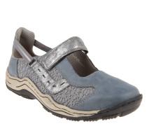 Sneaker, Materialmix, Häkel-Spitze, Klettverschluss