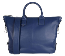 """Handtasche """"Jersey"""", Zier-Quaste, Schultergurt, Blau"""