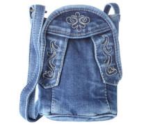 Jeanstasche, Trachten-Stil, Stickerei