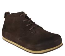 Boots, Leder, Naturkork, Schnürung