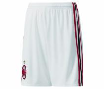 AC Mailand Shorts Home Replica, 2017/18, atmungsaktiv, für Kinder, Weiß