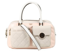 """Handtasche """"Wilson"""", Leder-Optik, Stepp-Design, Bicolor"""