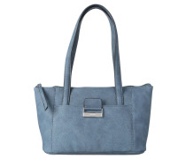 "Handtasche ""Talk Different II"", Leder-Optik, Blau"