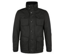 Field Jacket, Baumwolle, beschichtet, Stehkragen