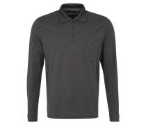 Poloshirt, Streifen-Look, Brusttasche