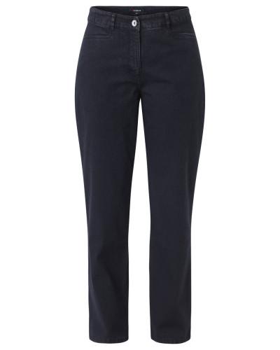 """Jeans """"Bina"""", Straight Fit, zwei Eingrifftaschen, Baumwollmix, Schwarz"""