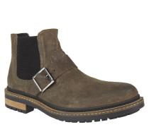 Chelsea Boots, Stretch-Einsatz, Schnalle, robuste Sohle