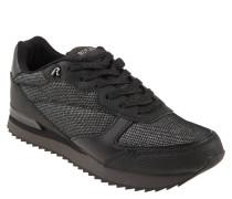 """Sneaker """"Landway"""", Glitzer-Verzierung, Komfortsohle, Schwarz"""