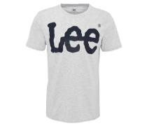 T-Shirt, Logo-Print, Rundhals