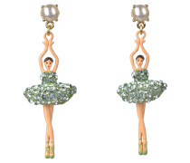 "Ohrringe ""Toe-dancing"", ABDDL115T/2, Ballerina, handbemalt"