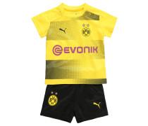 BVB Replica Trikot Babykit, Home, 2017/18, für Babys, Schwarz