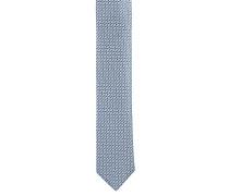 Krawatte, Seide, geometrisches Web-Muster