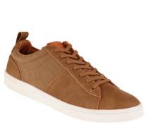 """Sneaker """"Giffoni"""", Materialmix, uni, Braun"""