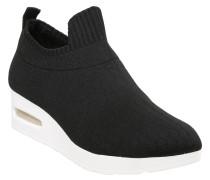 "Sneaker ""Angie"", Keilabsatz, Luftkissen, Schwarz"