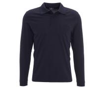 Poloshirt, Pima-Baumwolle, aufgesetzte Brusttasche, Blau