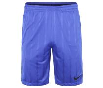 Shorts, elastischer Bund, Reißverschlusstaschen, Blau