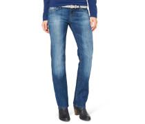 """Jeans """"Olivia"""", Straight Fit, Blau"""