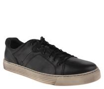 """Sneaker """"Bowl"""", Leder, Schwarz"""