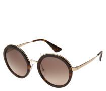 """Sonnenbrille """"SPR50T"""", runde Form, Schildpatt-Look"""