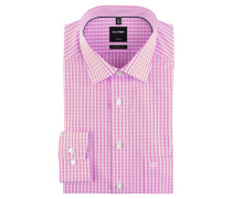"Businesshemd ""Luxor"", Modern Fit, Button-Down-Kragen, kariert"