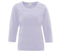 Pullover, Struktur-Muster, 3/4-Arm, Baumwolle