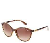 "Sonnenbrille ""VO 5165-S"", Havana-Stil, Verlaufsgläser, Cat-Eye-Form"