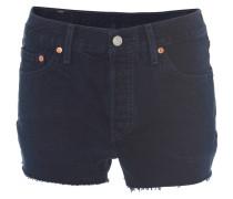 """Shorts """"501"""", Straight Fit, Denim, gefranster Saum, Blau"""