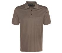 Poloshirt, zweifarbiger Kragen, Brusttasche
