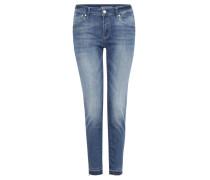 """Jeans """"Adriana Ankle"""", Super Skinny Fit, 7/8-Länge, Blau"""