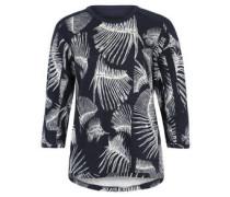 Sweatshirt, Alloverprint, ¾-Ärmel