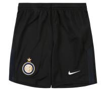 Inter Mailand Shorts Home, 2017/18, für Kinder, Schwarz