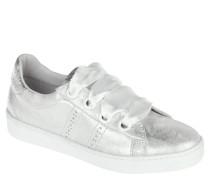 Sneaker, metallic, für Damen, Silber