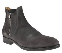 """Boots """"Mitchell"""", Veloursleder, Stretch-Einsätze, Leder-Sohle, Grau"""