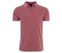 Poloshirt, Piqué, reine Baumwolle, Rot