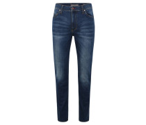 "Jeans ""Tramper"", Slim Fit, Waschung, Stretch, Blau"
