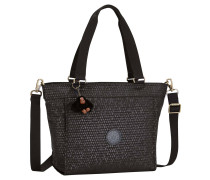 NEW SHOPPER S BLACK SCALE EMB, Schwarz