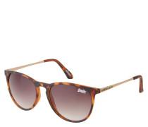 """Sonnenbrille """"SDS Ellen 102"""", Havana-Look, matt, Verlaufsgläser"""
