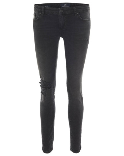 "Jeans ""Mina Maidu Wash"", Skinny Fit, Destroyed-Effekte"