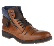 Boots, Schnürung, Filz-Futter, Ziernähte
