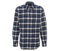 Hemd, Button-Down-Kragen, Knopfleiste, kariert