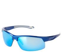"""Sportsonnenbrille """"ET19613"""", gebogene Form, verspiegelt"""