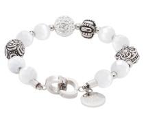 Armband, Charosma, Edelstahl, Glas, 015899