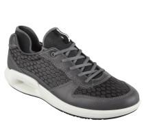 "Sneaker ""CS16 Men's"", Leder, Mesh-Einsatz, Grau"